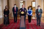 Presidente Iván Duque, recibe las vacunas del mecanismo Covax