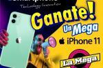 Gánate un Mega iPhone 11 con La Mega y Accesorios Mundo Smartphone