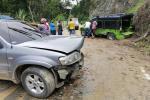 Choque entre camioneta y campero dejó 7 personas lesionadas en San Bernardo
