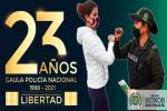 Dirección Antisecuestro y Antiextorsión cumple 23 años garantizando la libertad en Colombia