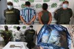 En diferentes procedimientos capturan a tres personas por comercializar estupefacientes en Planadas