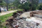 Combeima zona de riesgo por creciente del rio 2021