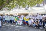 En Neiva instalan cordón humanitario permanente para el diálogo  en medio del paro nacional