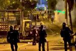 Volvieron los disturbios en inmediaciones del estadio Murillo Toro y de la Universidad del Tolima