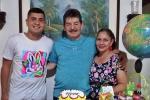 Jorge Uriel y familia