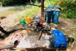 Siguen asestando duros golpes contra la minería ilegal en el norte del Tolima