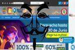 Página Alcaldía de Ibagué hackeada