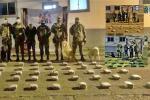Cárcel para tres pasajeros que llevaban marihuana en sus maletas al pasar por Cajamarca