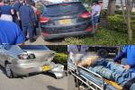 Se infartó conductor y generó choque en la avenida Mirolindo de Ibagué