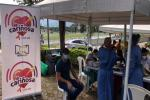 Jornada de vacunación en el parque deportivo de Ibagué