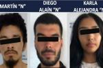 Presuntos asesinos de taxista méxicano