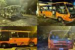 Capturaron 4 jóvenes involucrados en la quema de buseta en inmediaciones de la UT