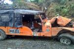 Diez heridos tras volcamiento de campero en zona rural de Ibagué