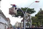 Cambio de luminarias calle 10 de Ibagué