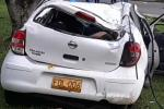 Conductor al parecer borracho le causó la muerte a vigilante en la glorieta de Mirolindo