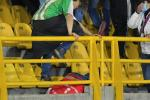 Hincha agredido en El Campín