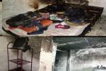 Se incendió apartaestudio en el barrio La Gaviota de Ibagué