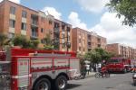 Incendio estructural en apartamento de Torreón de Santa Ana