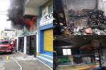 Tres incendios estructurales se presentaron este domingo en Ibagué