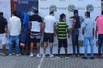 Contundente golpe a la banda delincuencial 'Los Urbanos' en el Guamo