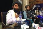 Zabihulla Mujahid, portavoz del grupo Talibán