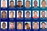 Cartel de los violadores más buscados
