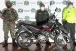 ¡Otra vez! Policía y Ejército recuperan otra motocicleta robada en Chaparral