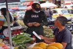 Campaña de prevención contra la extorsión en las plazas de mercado en Ibagué