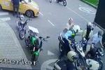 A machetazo atacan a guarda de transito en Itagüí, Antioquia.