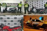 Recuperaron cuatro motocicletas robadas en San Luis, Armero – Guayabal, Honda e Icononzo